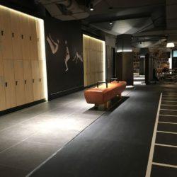 Kasten en meubels voor de  fitness club