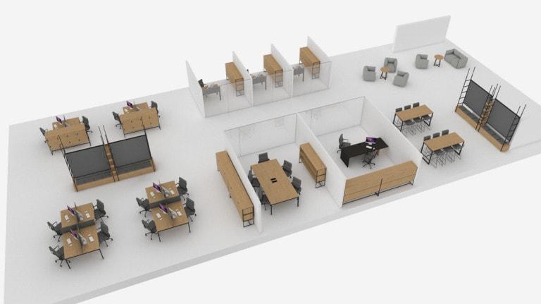Kantoormeubilair Turku™  Atepaa®